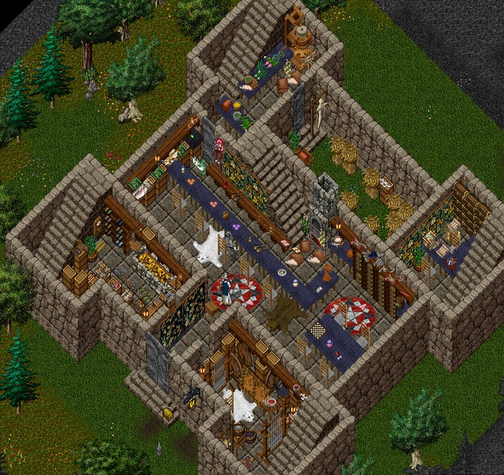 17 best images about ultima online houses on pinterest for Custom home online