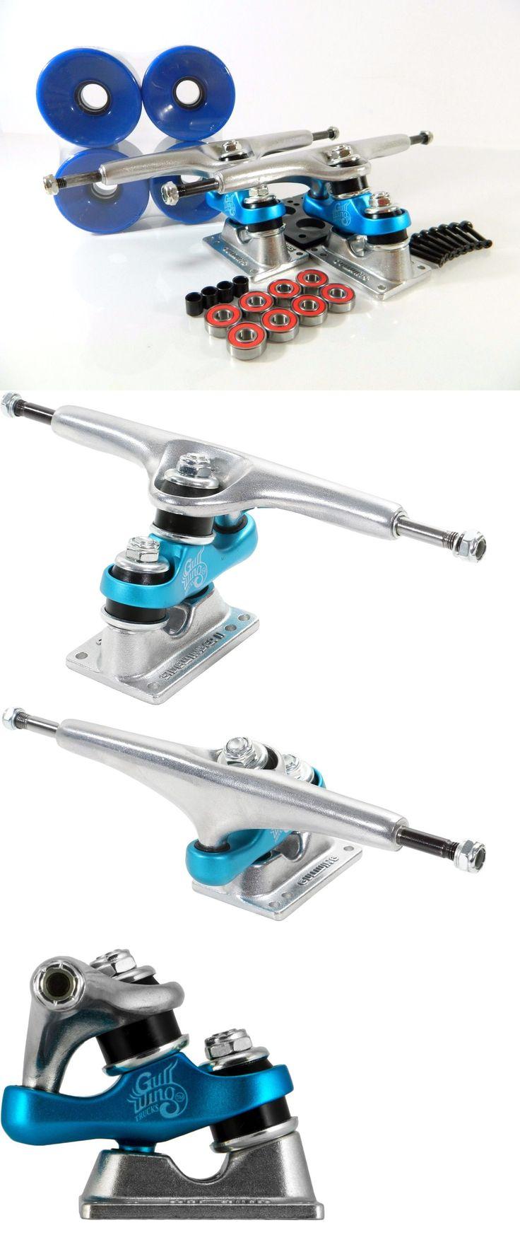 Trucks 165945: Gullwing Sidewinder Ii 10 Longboard Trucks + Blank Pro 76Mm 82A Blue Wheels -> BUY IT NOW ONLY: $69.99 on eBay!