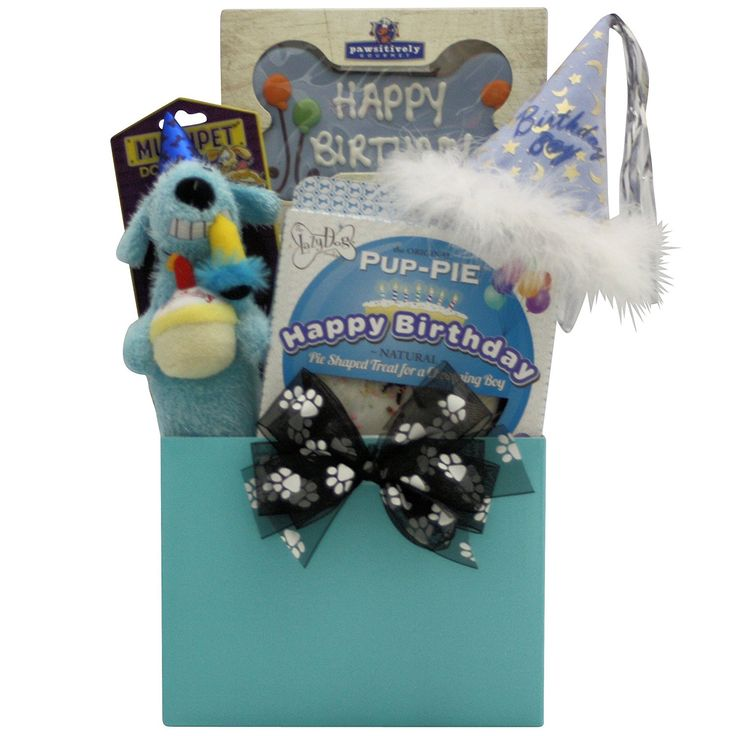 Dog Birthday Gift Baskets : Best ideas about blue gift basket on