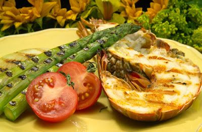 Flavors of Brazil: RECIPE - Grilled Lobster (Lagosta Grelhado na Casc...