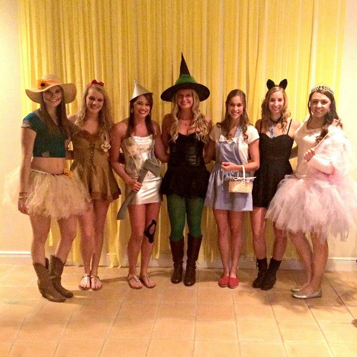 Wizard of Oz Girls Group Halloween costume #Squad #DIY                                                                                                                                                                                 More