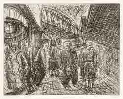 leon kossoff drawings