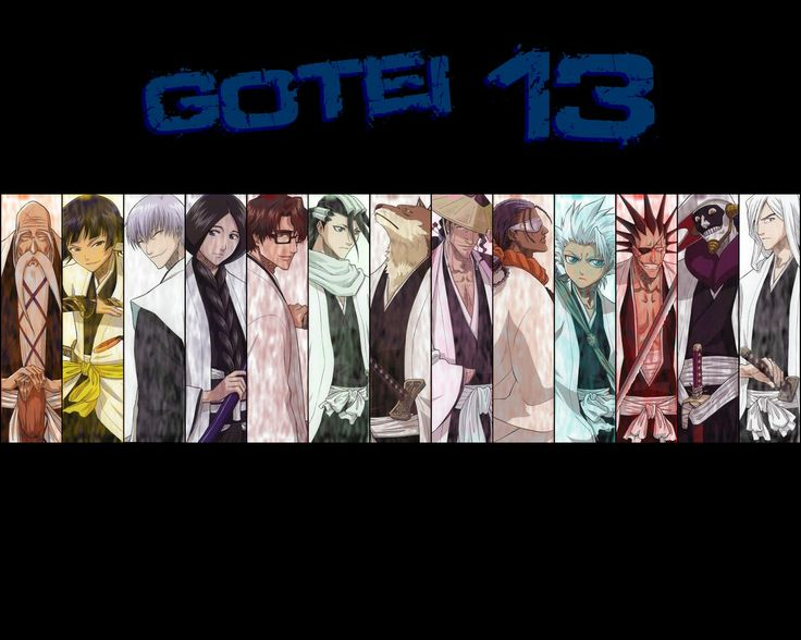 Gotei captains