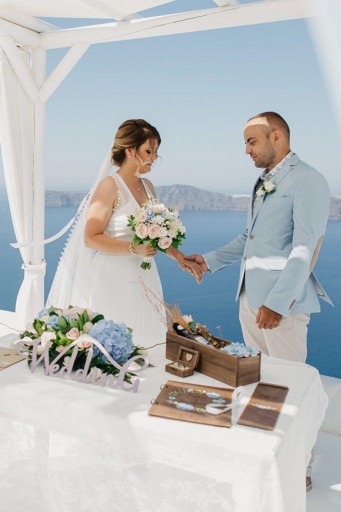 Wedding in Santorini Kirill