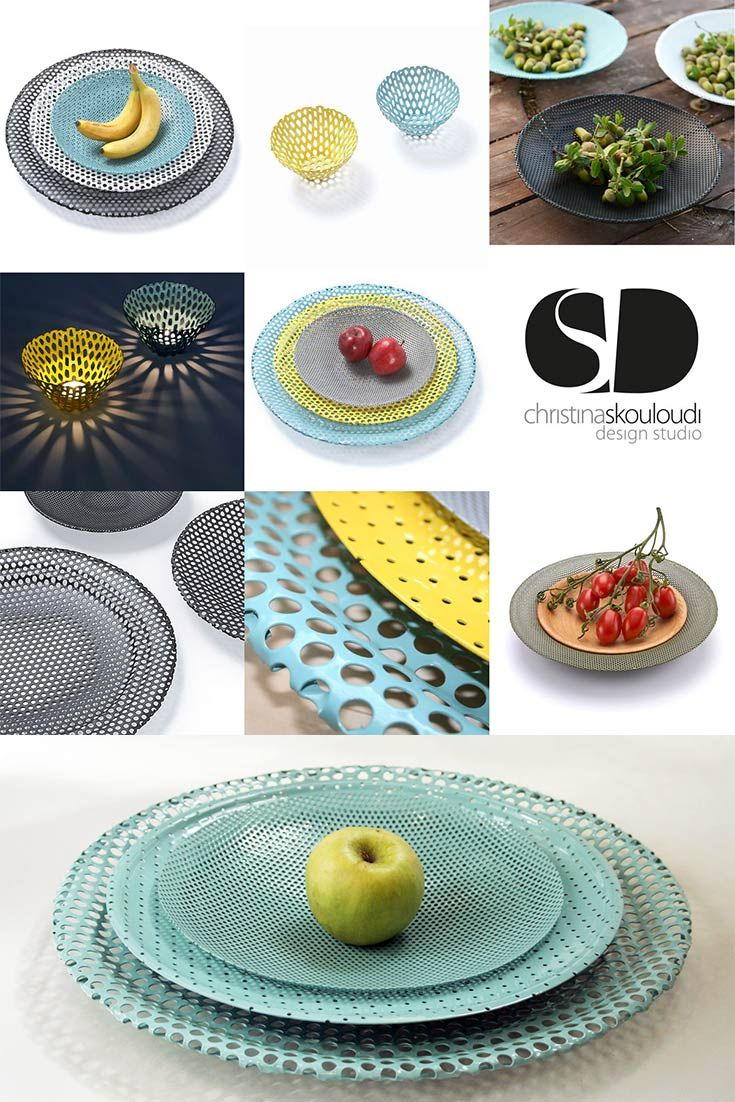 Diatrita | Multi-purpose perforated bowls