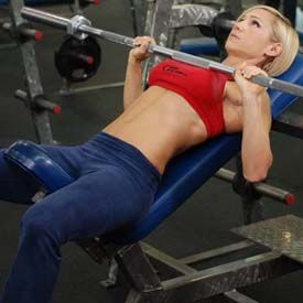 CHEST&ARMS FLAT PRESS:5 Full-Time Fat-Blasting Workouts: Weight Training For Fat Loss! - Bodybuilding.com