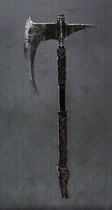 Dragonslayer's Crescent Axe