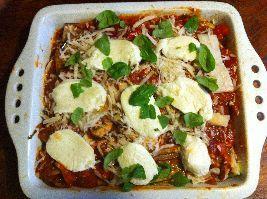 Een heerlijk recept voor een supergezonde lasagne zonder lasagnevellen! Helemaal volgens de Voedselzandloper!