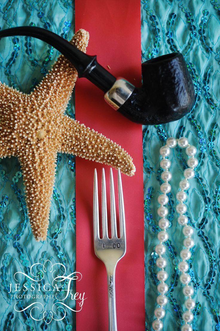 Little Mermaid Wedding, little mermaid wedding details, fairy tale wedding details, aqua teal and coral wedding, fairytale wedding, sea inspired wedding, Jessica Frey Photography
