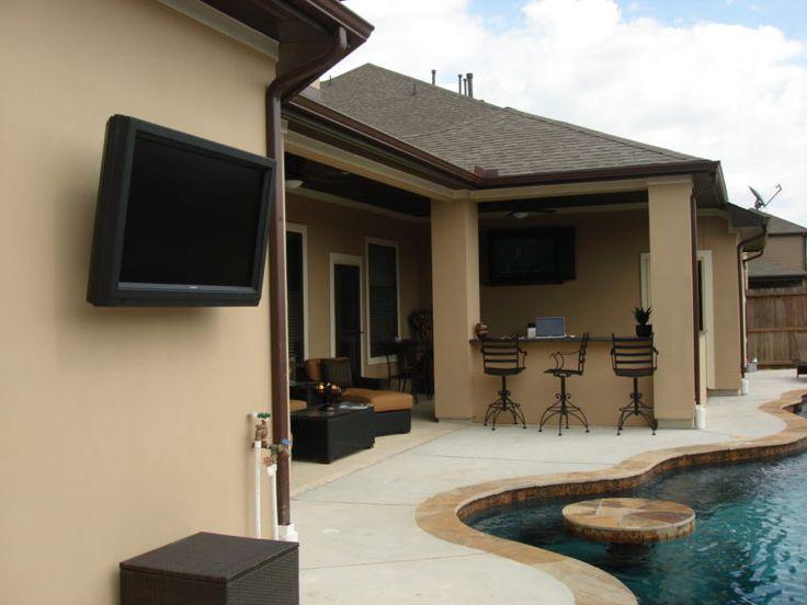25 best outdoor tv mounts images on pinterest tv. Black Bedroom Furniture Sets. Home Design Ideas