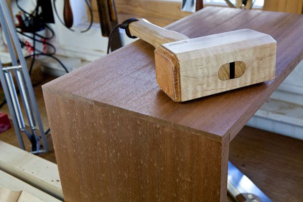 """When beginning woodworkers rank the difficulty of the different dovetail joints, they usually think of the through-dovetail as the """"bunny slope."""" The half-blind dovetail is the """"expert slope"""" – perhaps a blue or a black trail if you are a snow skier. So what's the full-blind dovetail? Or the secret-mitered dovetail? Throwing yourself off a cliff without a parachute? In my view, the through-dovetail is actually the most difficult …"""