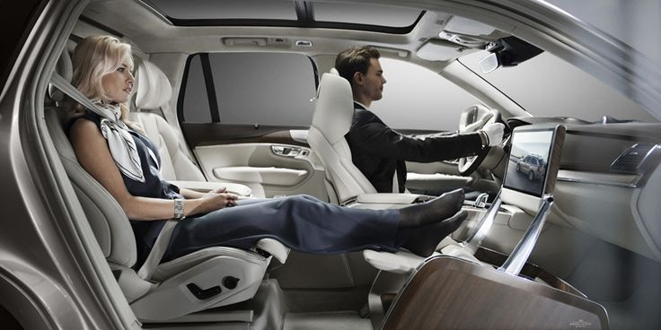 把豪华商务舱搬进车里 沃尔沃展示全新xc90 豪华内饰及excellence 版本 理想生活实验室 Volvo Xc90 Luxury Car Interior Volvo