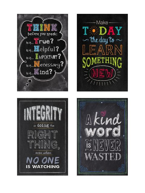 Chalk.. I Mean, Check This Out!! Creative Teaching Press Rocks My World!