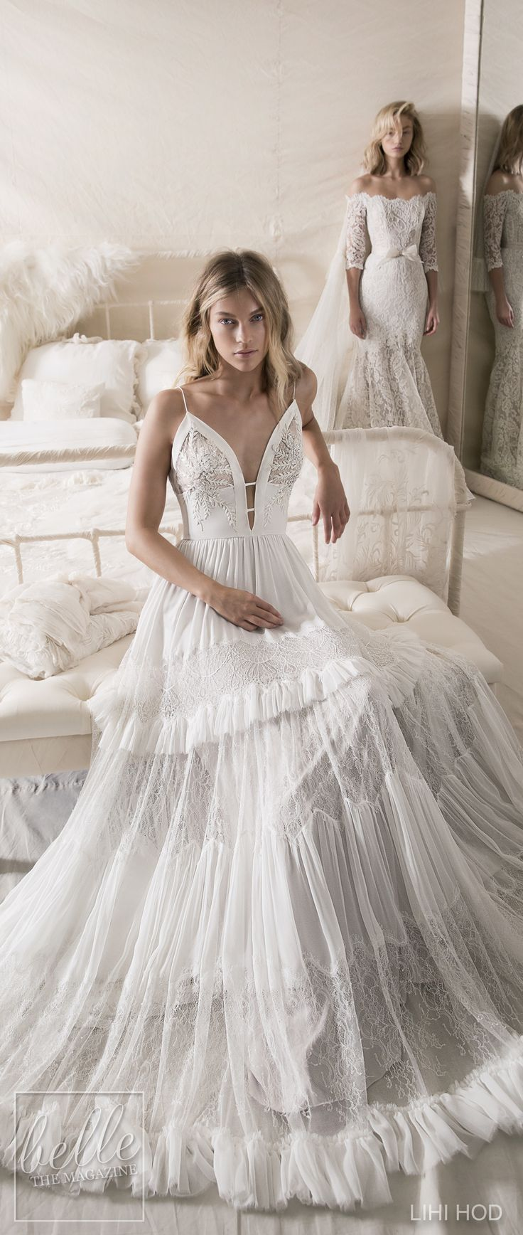 Wedding Dresses by Lihi Hod-Fall-2018 Couture Bridal Collection #WddingDress