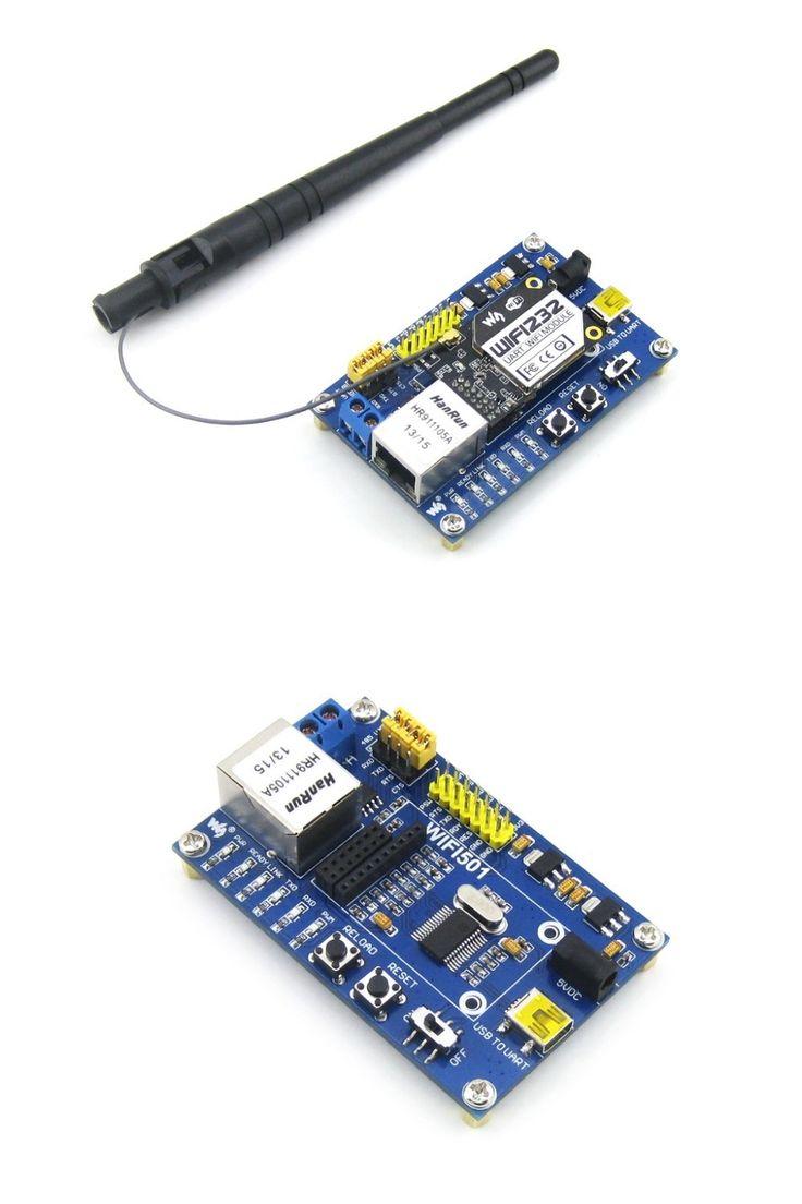 WIFI232 RJ45 Ethernet Port Serial Port WIFI to UART USB to UART WIFI Module +Antenna