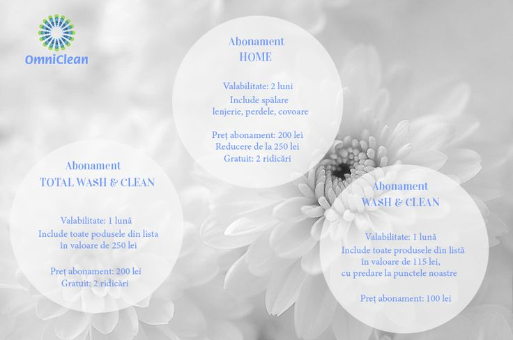 Vino la OmniClean și alege-ți abonamentul potrivit nevoilor tale!  www.omniclean.ro 0721 020202