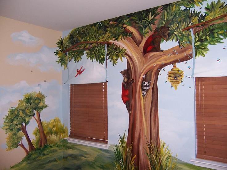 Forest Mural I Would Like To Have In My Kid's Room...all I