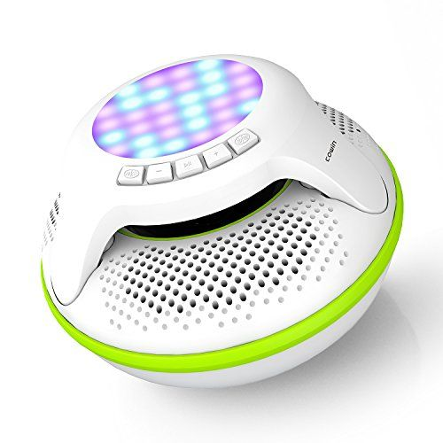 Bluetooth Speaker Suppliers Cowin Swimmer Waterproof Wireless Portable Shower Subwoofer Stereo Mini Light Led Speakers For Phone