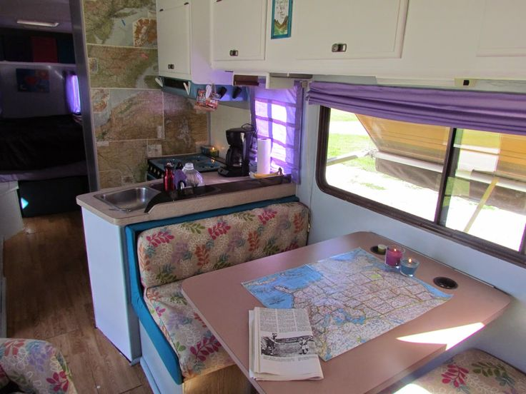Remodeled Campers Before And After Color Schemes