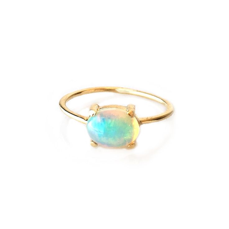 MY DREAM ENGAGEMENT RING!!!! 14kt Gold Opal Venezzia Ring