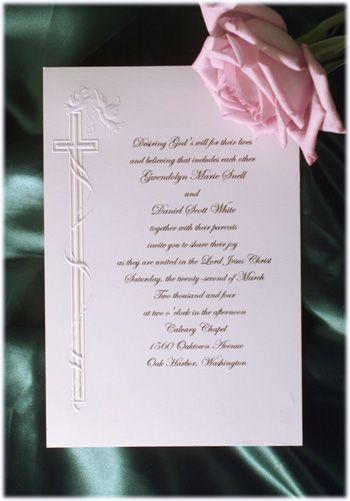 The 25 best christian wedding invitation wording ideas on religious wedding invitations stopboris Choice Image