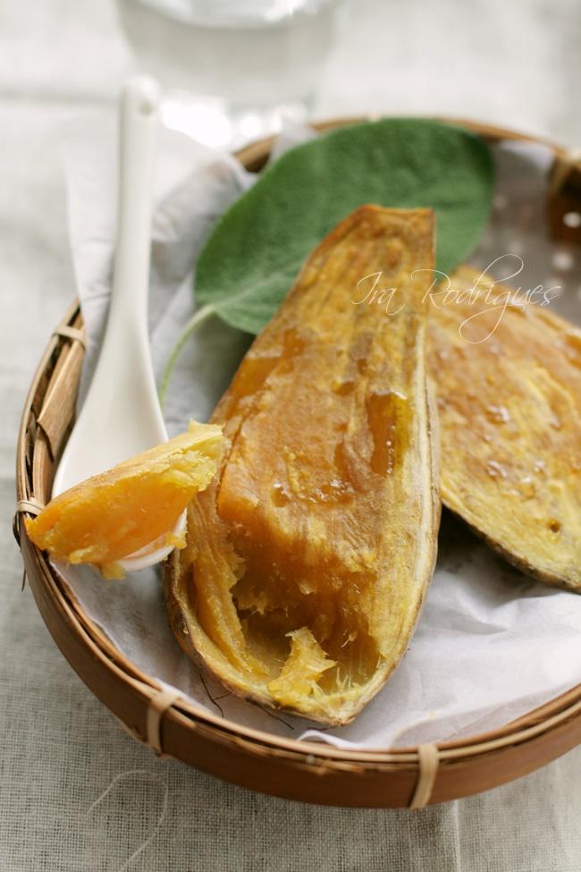 Oven Roasted honey sweet potato from Cilembu West Java   by Ira Rodriguez