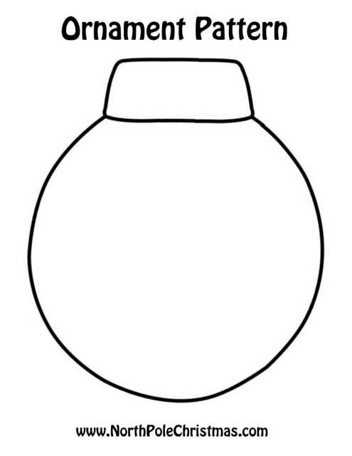 Printable Christmas Ornament. Cut out the middle and use contact paper to make window ornaments maybe?