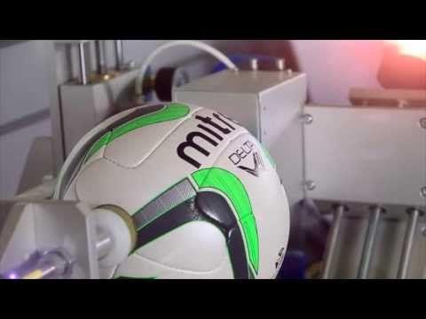 Discount Football Kits show you how Mitre put their footballs through rigorous tests. #mitre #footballs