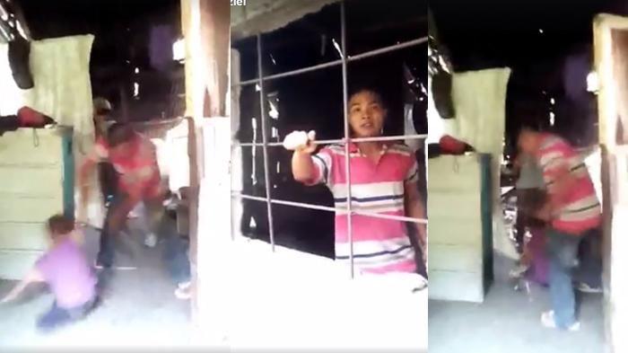 Video Kekerasan - Kejam! Pria Ini Tega Pukuli Seorang Bocah, Kemudian…