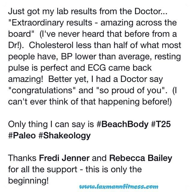 This is such amazing news from one of our challengers!!!