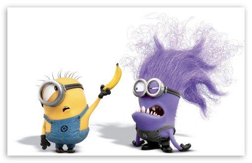 Download Evil Purple Minion HD Wallpaper Minions funny