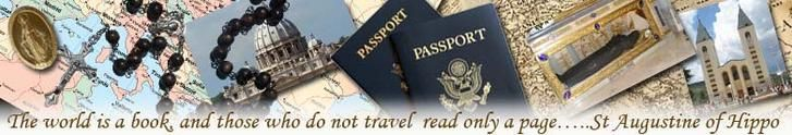 The Catholic Travel Guide home page