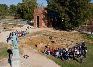 It's not every day that a 400th wedding anniversary is celebrated, so you might want to mark this one down. Visit Historic Jamestowne the weekend of April 4-6, 2014 to celebrate the 400th anniversary of the marriage of Pocahontas to John Rolfe with a reenactment of the ceremony. - See more at: http://blog.virginia.org/2014/01/6-history-buffs-2014/#sthash.grJcGUhf.dpuf
