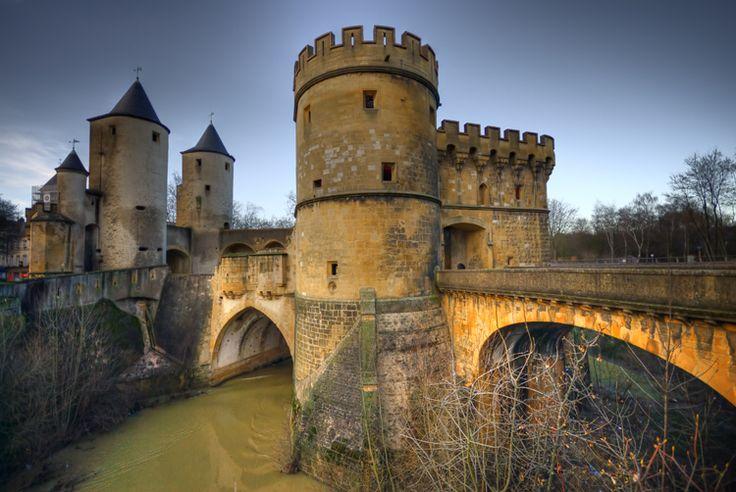 Porte des Allemands - Metz France _ ancien hôpital des Chevaliers Teutoniques