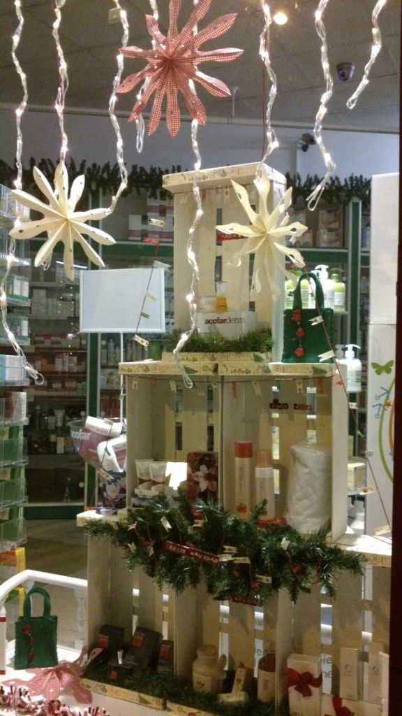 Escaparate navide o navidad christmas display - Adornos navidenos para escaparates ...