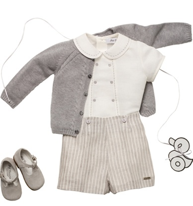 Mitchell could wear something similar without the sweater for my wedding. Clothing for children - http://livelovewear.com/kidsclothes