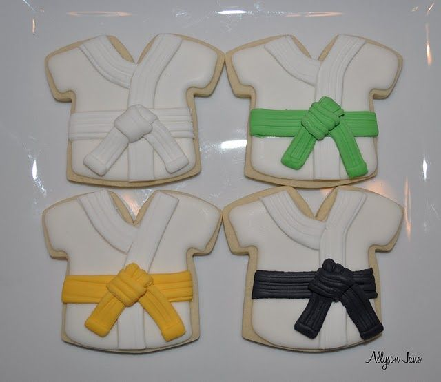 taekwondo cookies for the awesome kids                                                                                                                                                                                 More