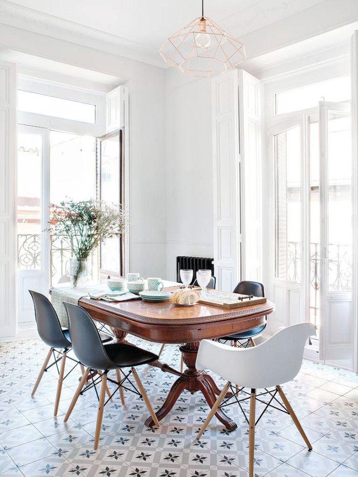 18 Stt Att Inreda Med Kakel Och Klinker Scandinavian Interior DesignElle DecorWood Dining TablesDining RoomsAntique