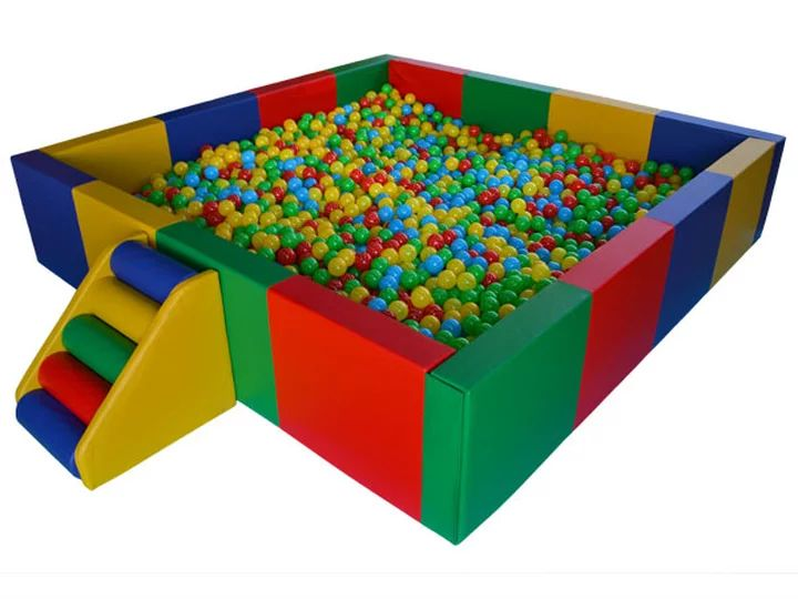 Square Ball Pit   Party Hire Perth   Kids Party Hire