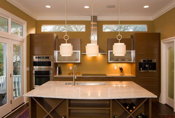 ochre walls in kitchen design, benjamin moore coriander ...