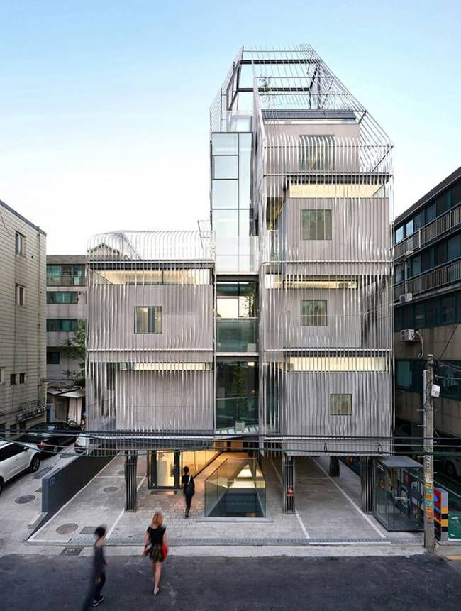 Flexible micro-housing in Seoul is a communal micro-neighborhood