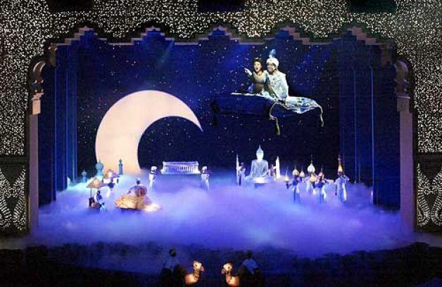 A Whole New World Set Design Aladdin Jr Pinterest