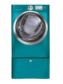 This is the colour of Whirlpool Washer and Dryers I want. My laundry room would look like so much fun, I would actually want to stay in there and fold my clothes.