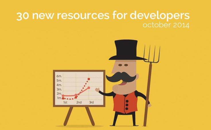 30 new tools & resources for developers (October 2014)