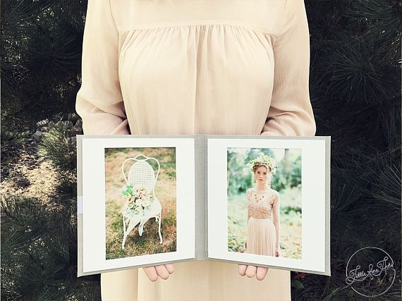 Linen Matted Folio 5x7 prints with two slip-in Mats