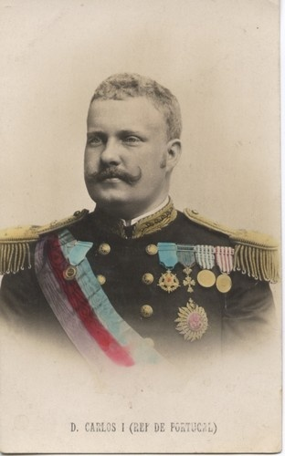 King of Portugal Charles 1(1863-1908)