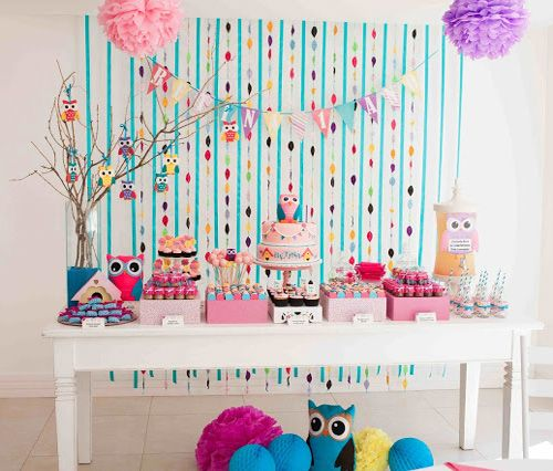 My Owl Barn: Fabulous Owl Themed Birthday Party