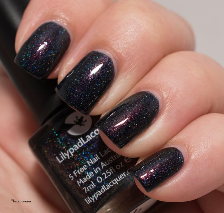 Lilypad Lacquer Forbidden Fruit, Nail Polish Blog,