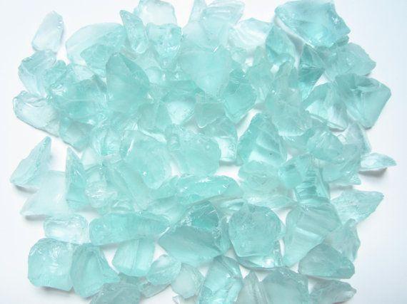 Sea Foam Sea Glass  8 oz  Beach Glass-Sea by MermaidCoveGiftShop