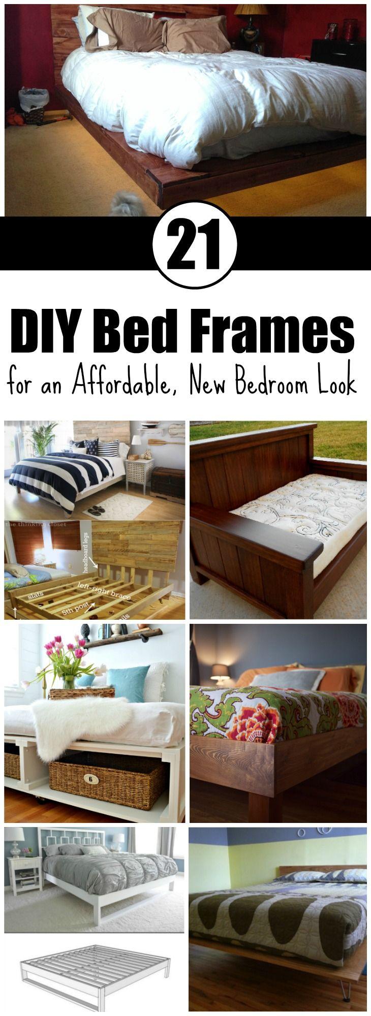 17 best ideas about bed frames on pinterest diy bed frame pallet platform bed and bed frame and mattress